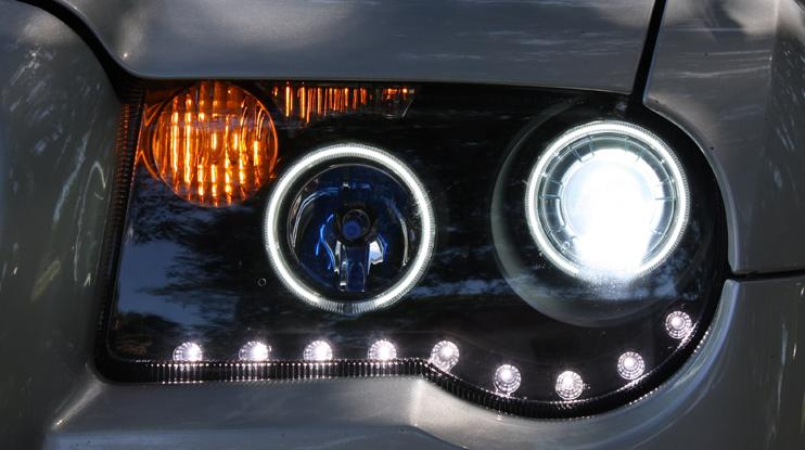 Custom headlights